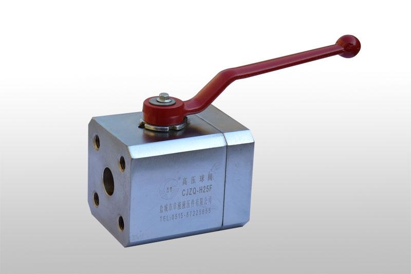 上海CJZQ型法兰式高压球阀