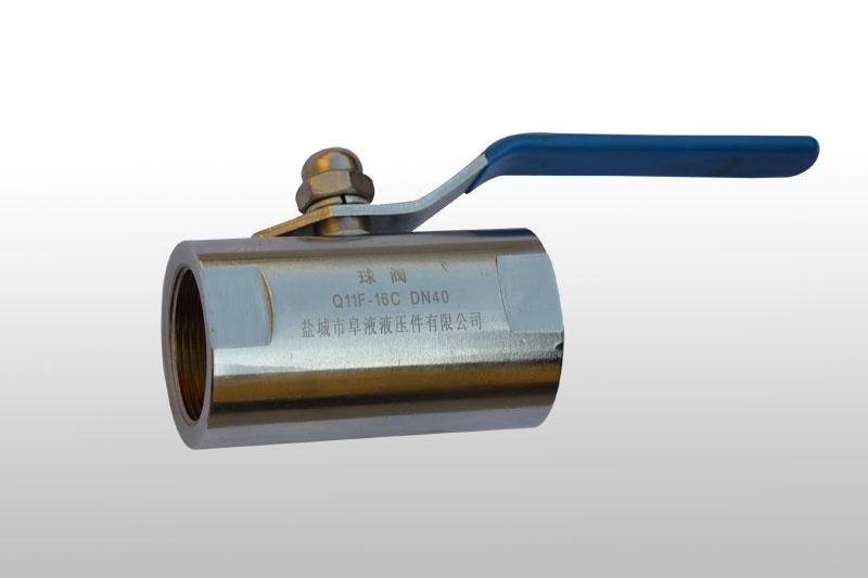 Q11F型低压球阀