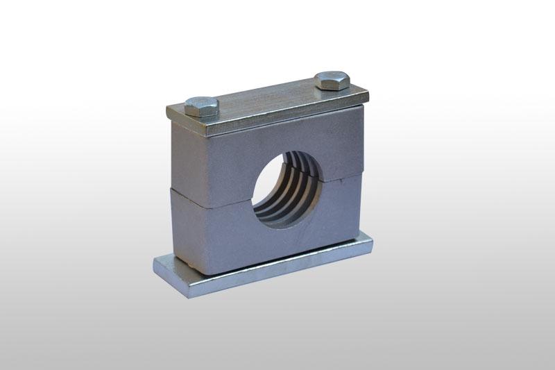 重型铝管夹